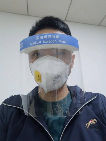 Double Sides Anti Fog Clear Rigid PET Film For Medical Face Shield