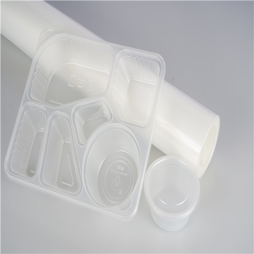 food grade clear white plastic PP sheet