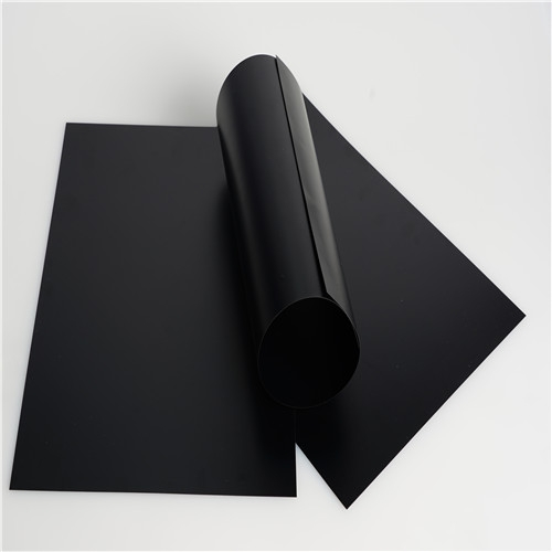 Matt PET plastic sheets for thermoforming