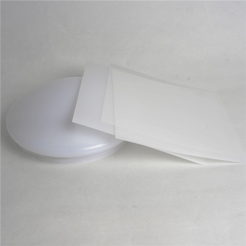 PET diffuser sheet for LED lights