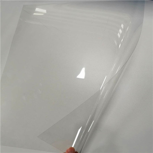 Anti fog transparent pet sheet for face shield