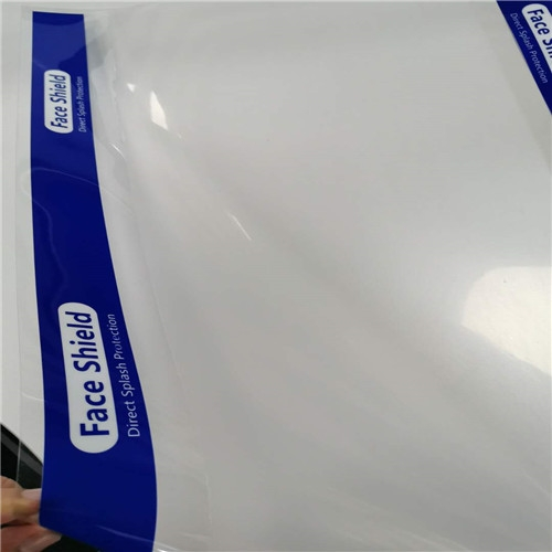 clear plastic anti fog PET sheet