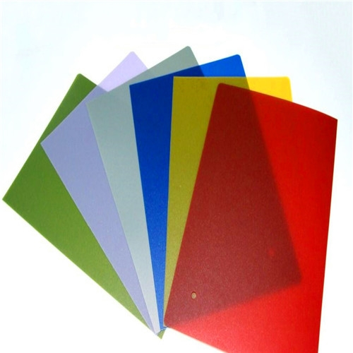 colored  polypropylene 0.5mm pp plastic sheet roll