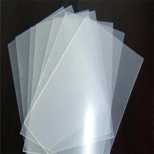 High transparent PP sheet clear polypropylene sheet for printing