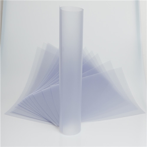 Clear Embossed Vacuum Forming PVC Sheet Roll