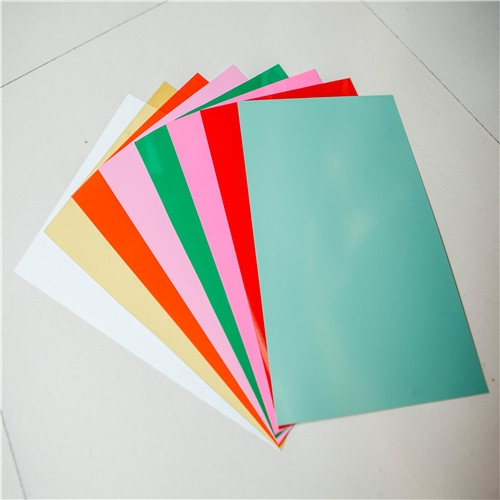 uv offset printing rigid clear pvc sheet