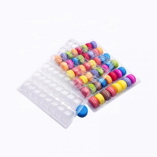 48 macaron blister packaging trays